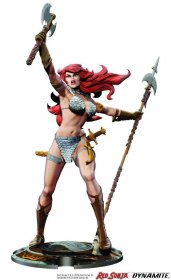 Red Sonja Socha Red Sonja 45th Anniversary by Frank Thorne 32 c