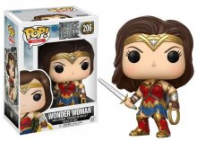 Justice League Movie POP! Movies Vinylová Figurka Wonder Woman 9