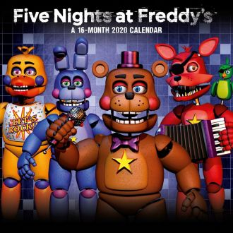 Five Nights At Freddy's Calendar 2020 English Version*