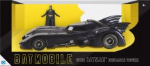 Batman 1/24 1989 Batmobile with Batman gumová ohebná figurka