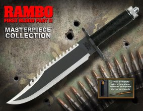 Rambo First Blood Part II Replica 1/1 Knife Masterpiece Collecti
