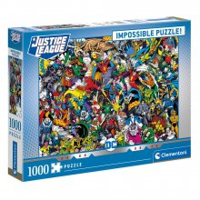 DC Comics Impossible skládací puzzle Justice League (1000 pieces