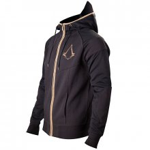 Assassin´s Creed Syndicate Zipper Hoodie Bronze Logo size M