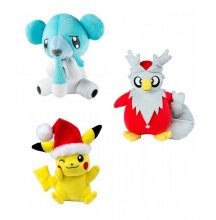 Pokemon XMAS Plush Figures 20 cm D Display (6)