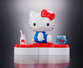 Hello Kitty Chogokin Diecast Akční figurka Hello Kitty 45th Anni
