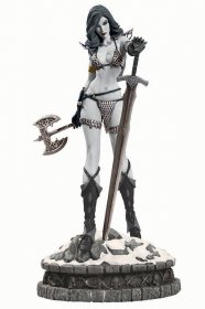 Women of Dynamite Socha Red Sonja Limited Black & White Variant