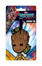 Guardians of the Galaxy Vol. 2 Rubber Luggage Tag I Am Groot