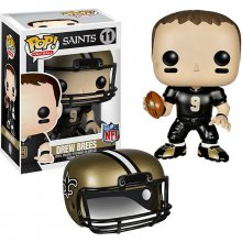 NFL POP! Football figurka Drew Brees (Saints) 9 cm