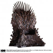 Game of Thrones Socha Bronze Iron Throne 36 cm