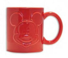 Mickey Mouse Relief Hrnek Red