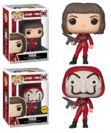 Money Heist POP! TV Vinyl Figures Tokio 9 cm prodej v sadě (6)