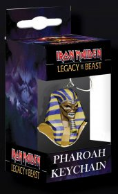 Iron Maiden Legacy of the Beast PVC přívesek Pharaoh Head 8 cm