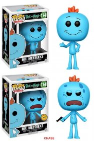 Rick and Morty POP! Animation Figures Mr. Meeseeks 9 cm Assortme