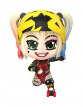Birds of Prey Cosbaby mini figurka Harley Quinn (Roller Derby Ve