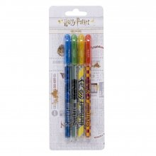 Harry Potter Gel Pens 4-Packs sada 6 kusů