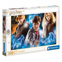 Harry Potter skládací puzzle Expecto Patronum (500 pieces)