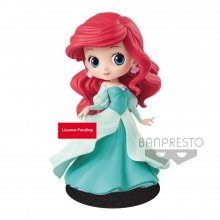 Disney Q Posket Mini Figure Ariel Princess Dress A (Green Dress)