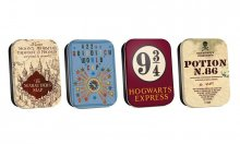 Harry Potter Timeless Tins 4-Pack Map