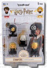 Harry Potter Stamps 5-Pack Wizarding World 4 cm
