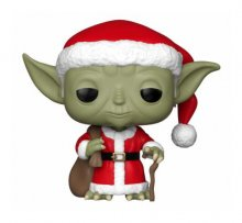 Star Wars POP! Vinyl Bobble-Head Holiday Santa Yoda 9 cm