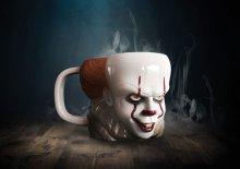 Stephen Kings It 2017 3D Hrnek Shaped Pennywise