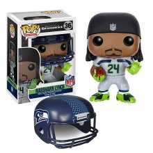 NFL POP! Football figurka Marshawn Lynch (Seattle Seahawks) 9 cm
