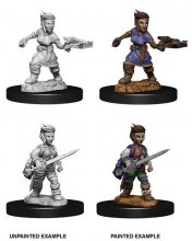 Pathfinder Battles Deep Cuts Unpainted Miniatures Female Halflin