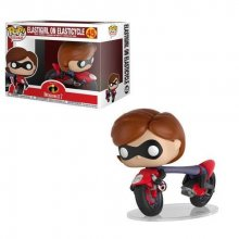 Incredibles 2 POP! Rides Vinyl Figure Elastigirl on Elasticycle