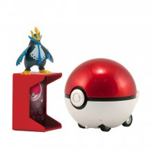 Pokémon Catch 'n' Return Poké Ball Empoleon + Poké Ball