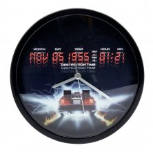 Back To The Future Wall Clock Destination Time
