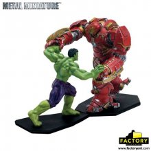 Avengers Age of Ultron mini figurka 2-pack Hulk vs Hulkbuster 11