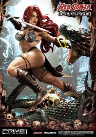 Red Sonja Socha Red Sonja She-Devil with a Vengeance 79 cm