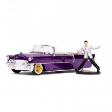 Elvis Presley Hollywood Rides kovový model 1/24 1956 Cadillac E