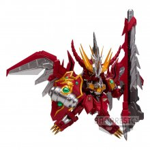 SD Gundam PVC Socha Red Lancer 9 cm