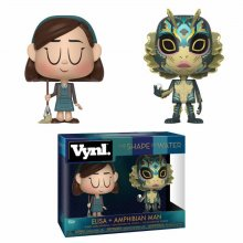 The Shape of Water VYNL Vinyl Figures 2-Pack Elisa & Amphibian M