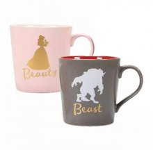 Beauty and the Beast Hrnek 2-Pack Beauty & Beast