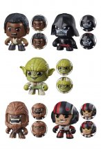 Star Wars Mighty Muggs Figures 9 cm 2018 Wave 2 Assortment (6)