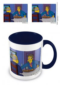 Simpsons Coloured Inner Hrnek Steamed Hams