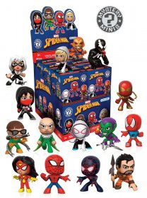 Marvel Comics Mystery mini figurky 5 cm Display Spider-Man Varia