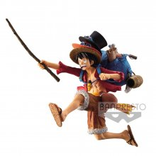 One Piece Figure Monkey D. Luffy SP Design Ver. 11 cm