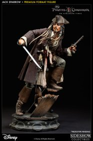 Pirates of the Caribbean socha Premium Format Jack Sparrow 51 cm