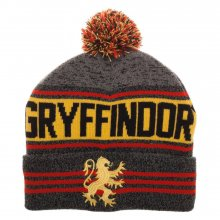 Harry Potter Beanie 3D Jaquarded Gryffindor Logo