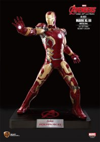 Avengers Age of Ultron Life-Size Socha Iron Man Mark XLIII Batt
