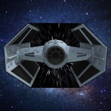 Star Wars Picnic Rug TIE Fighter