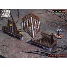 Gothic Millennium ColorED Miniature Gaming Model Kit 28 mm Crumb