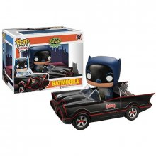 DC Comics POP! vinylová figurka 1966 Batmobile with Batman 10 cm