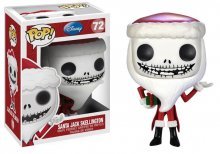 Nightmare Before Christmas POP! Vinylová Figurka Santa Jack Skel
