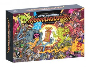 Epic Spell Wars of the Battle Wizards Deck-Building Game Annihil