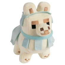 Minecraft Happy Explorer Plyšák Baby Llama White/Baby Blue