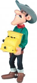 Lucky Luke Figure William Dalton Cash Register 7 cm
